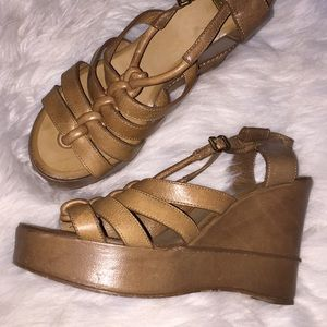 Chloe Strappy Wedge Platform Sandals